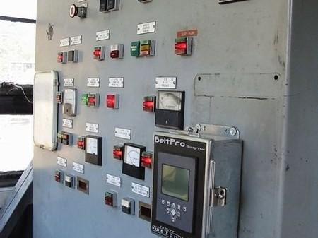 BeltPro Integrator Installed in Control Room.