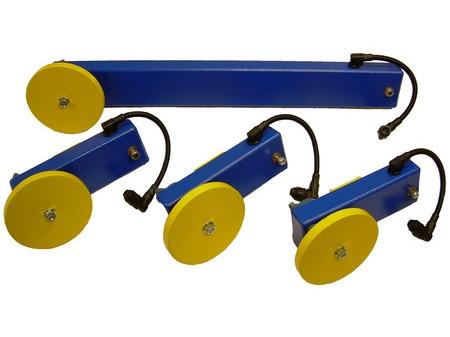 Custom Speed Sensors for Small Depth Conveyor Structure.